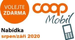 COOP mobil srpen/září 2020