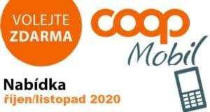 COOP mobil prosinec 2020 až leden 2021